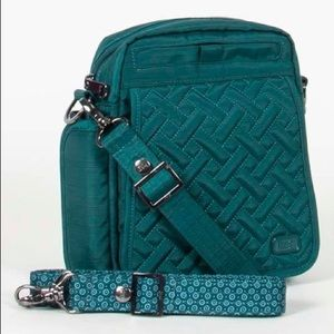 Teal Crossbody Flapper Bag! NEW WITH TAGS